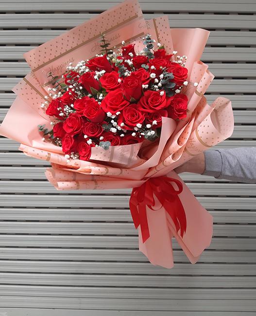 bó hoa tươi 003
